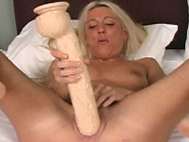 Megan uses big brutal weenies