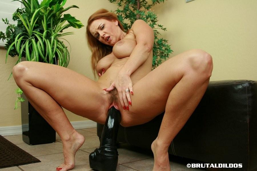 image Extreme big anal toys hd hot blonde milf